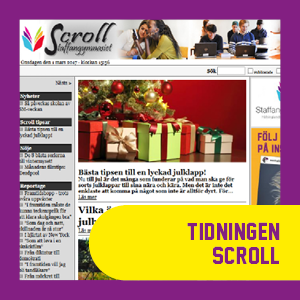 Skoltidningen Scroll
