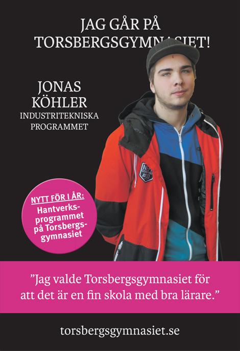 Jag går på Torsbergsgymnasiet!